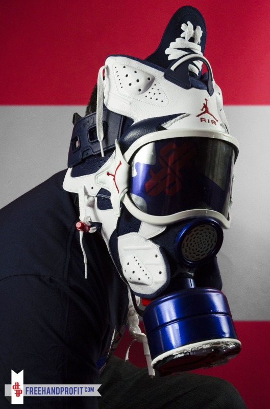 sale retailer 7ce5a e75f5 ... the beautiful mask that you see below was created. What do you think of  these, pure art, or a waste of a perfectly good sneaker