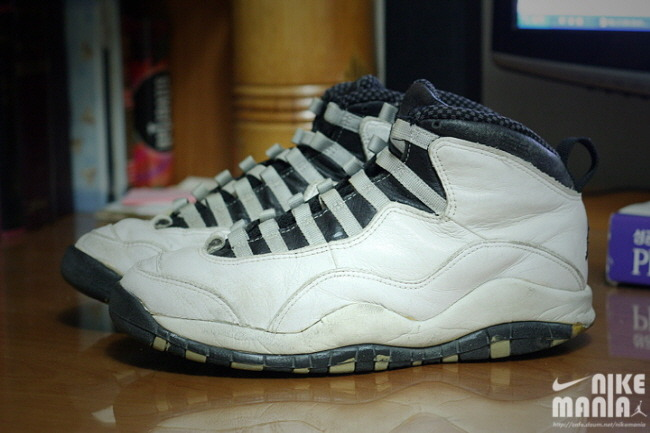 pretty nice 701eb f01e8 Air Jordan X Retro White/Black-Steel Grey Dissected - Air 23 ...