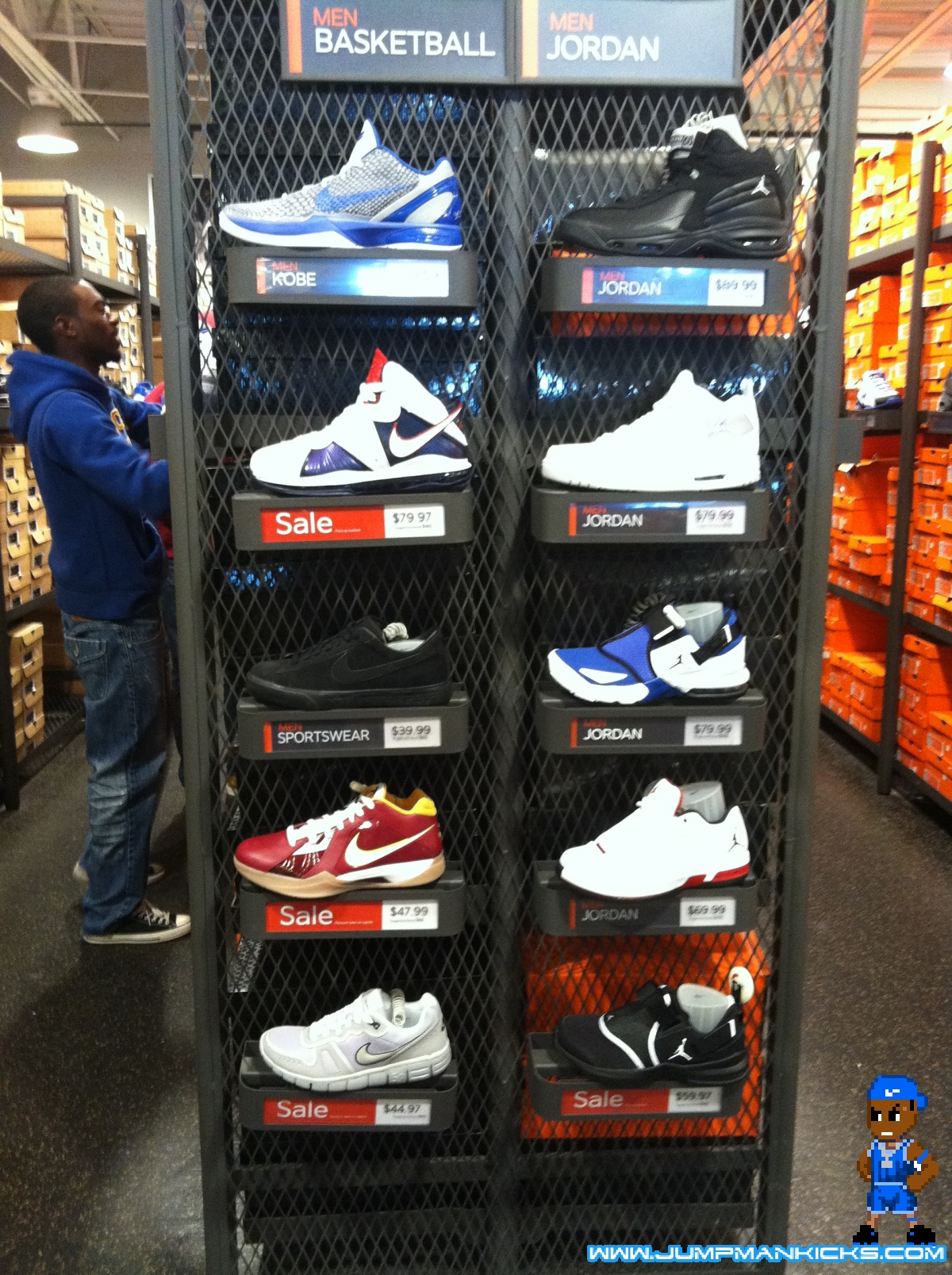 Nike Outlet Report: Allen, TX