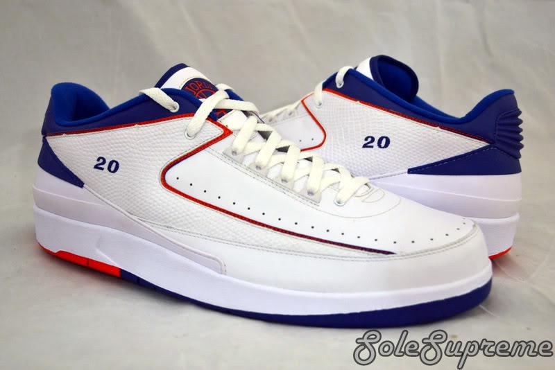 704f7b15272 Mens Air Jordan 2 Retro Low White Varsity Red Black 832819 101 Chicago Nike  II