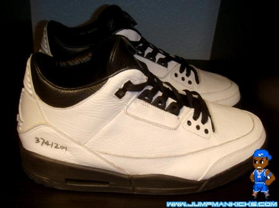 32941b02c3d3 Rare Air - Air Jordan III Retro White Black Jordan Motorsports ...