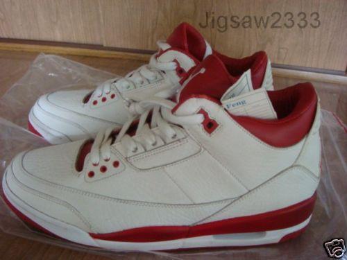 purchase cheap 26143 bf5e0 Rare Air: Air Jordan III White Red Promo Sample | NikeTalk