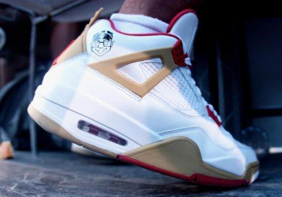 ac128a3d88fa Nike Air Jordan IV 4 Retro Basketball Shoes NEW MENS Size 9.5 ALTERNATE 89