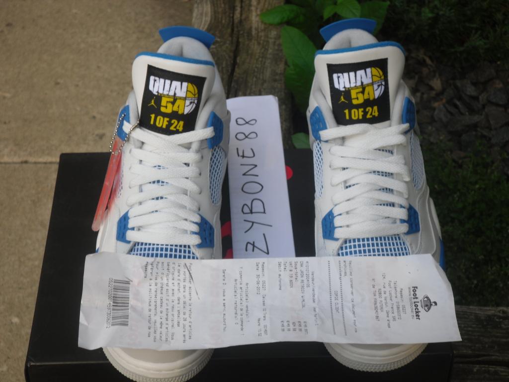 6ef7656fbf34 Nike Air Jordan 1 Retro High OG Quai 54 Q54 Paris AH1040-054 AUTHENTIC  W Receipt
