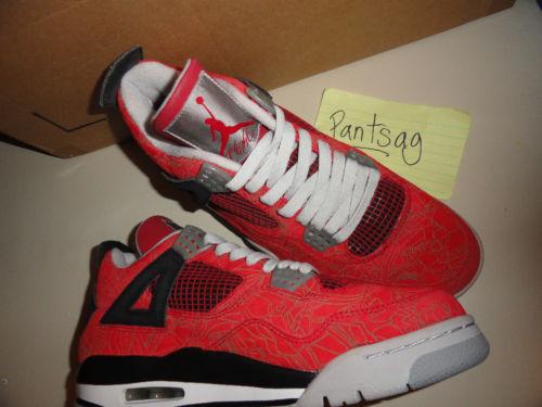 1f06396764c838 Rare Air - Air Jordan IV Retro Red Laser Samples