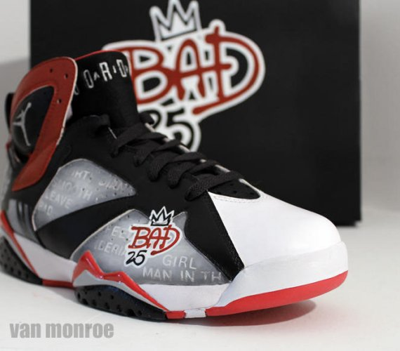 The Bad 25 logo has been placed near the toe. This pair is one of a kind ef734af42