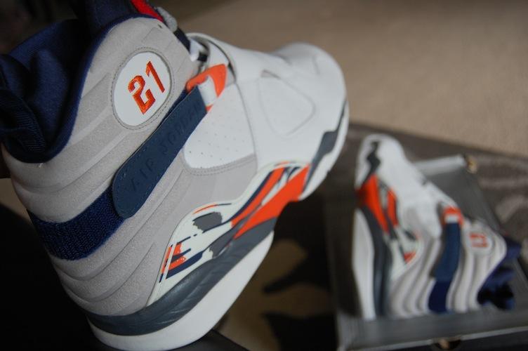 promo code 6edfe 73501 ... Rare Air - Air Jordan VIII (8) Retro Darius Miles Cleveland Cavaliers  Player Exclusives ...
