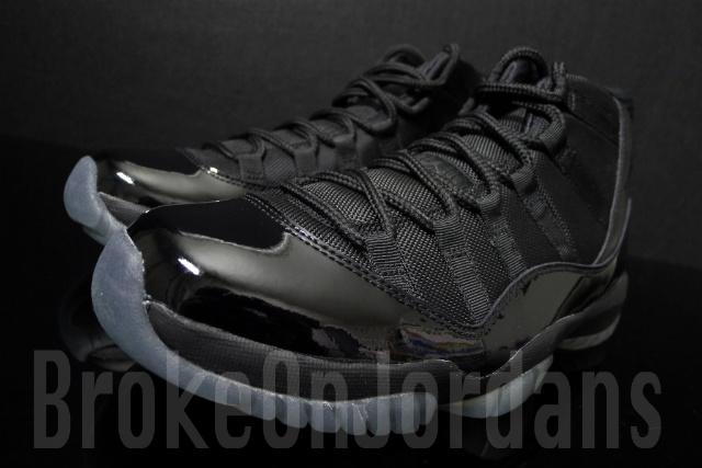 "11cb83d13426 ... Rare Air – Air Jordan XI (11) Retro ""Blackout"" Sample ..."
