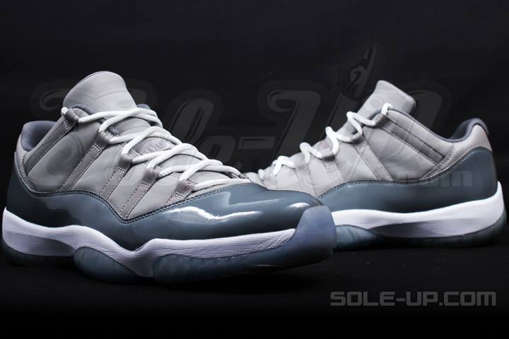 "online retailer 74b31 d2f56 Rare Air  Air Jordan XI (11) Low ""Cool Grey"" Michael Jordan Player  Exclusives"