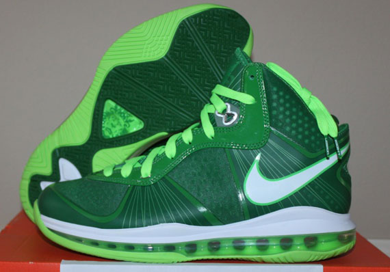 e88a49cd756 Rare Air - Nike LeBron VIII (8) V2 Victory Green Electric Green ...