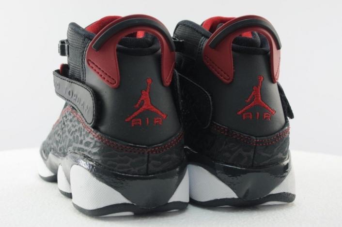 """aac29f8502b0 Air Jordan 6 Rings GS """"Bred Elephant"""" - Air 23 - Air Jordan Release ..."""