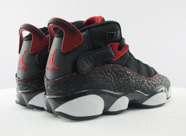 a10285c988b8 Jordan 6 Rings Color  Black White Gym Red-Anthracite Style  323419-020.  Release  11 30 2013