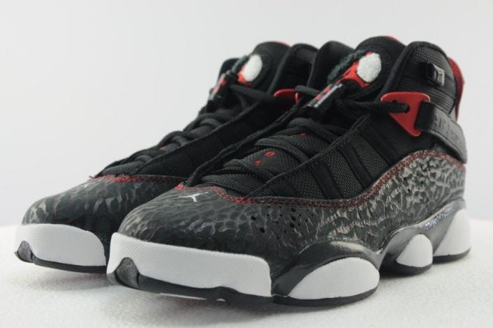 edd5ffeff2a Jordan 6 Rings Color  Black White Gym Red-Anthracite Style  323419-020.  Release  11 30 2013