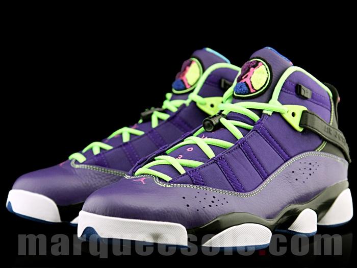 online store 4750e 73269 Jordan 6 Rings - Purple/ Black-Volt