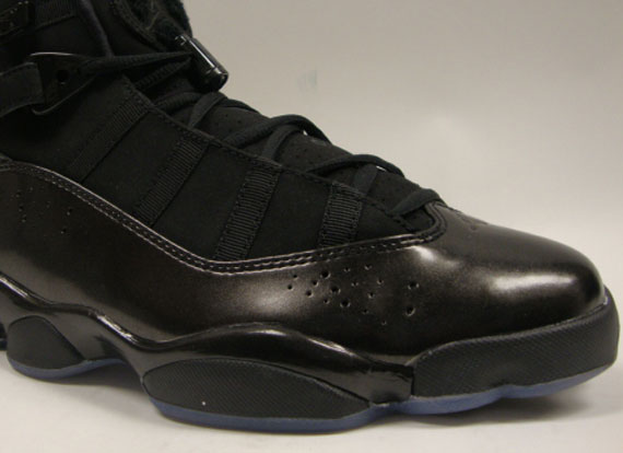 a2ee2eec6b2284 Air Jordan 6 Rings Black Dark Charcoal Released Today - Air 23 - Air ...