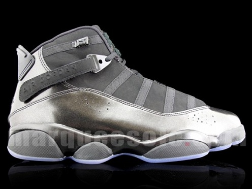 5d0a35cb10ddb Nike Air Jordan 6 Rings Black White-Gym Red Men s Basketball Shoes  322992-012