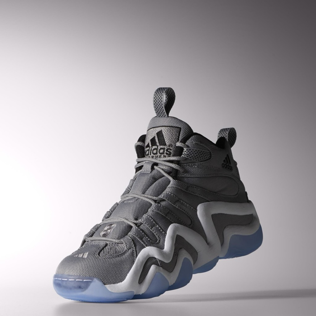f470b08b67c7f An Ice Blue translucent outsole perfects the color palette. You can get the Light  Onix Ice Blue Adidas Crazy 8 now at Adidas s web site