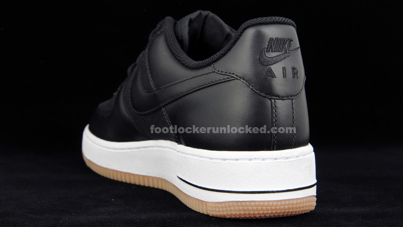 Nike Air Force 1 Bas Noir Ss / Blanc / Gomme Airforce remises en ligne UwvNNBZ7uW