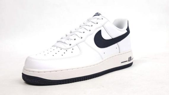 huge discount 16cdb 13f1c Nike Air Force 1 Low WhiteWhite-Navy