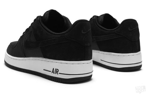 1929817bad3d66 Nike Air Force 1 Low Premium - Black Black-White - Air 23 - Air ...