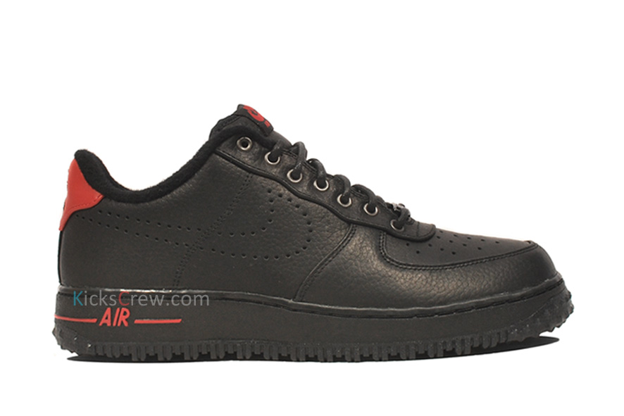 009b95d7c09 Nike Air Force 1 Premium Low QS (LeBron) Color  Black   Black – Sport Red  Style  487970-100Release  11    2011. 313985-061 ...