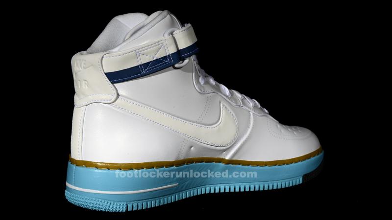 Air Force 1 Haute Drapeau Blanc Bleu