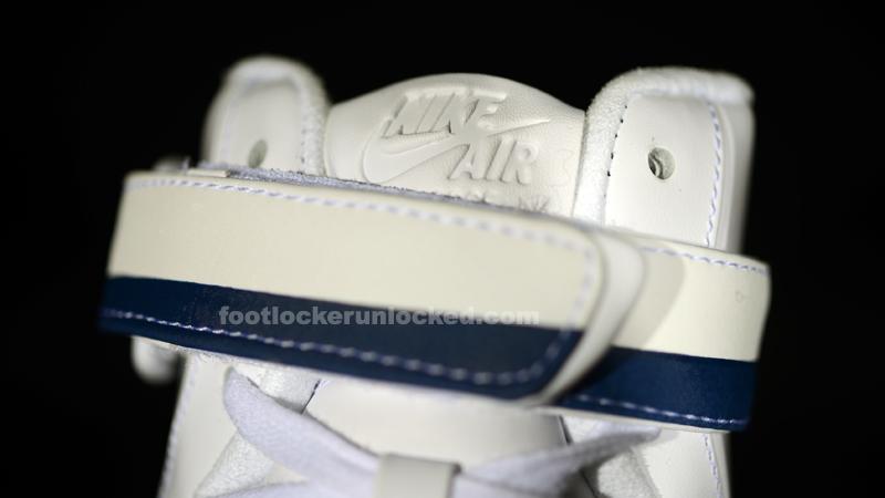 Fuerza Aire 1 De Alta Bandera Blanca Azul Newcxf5