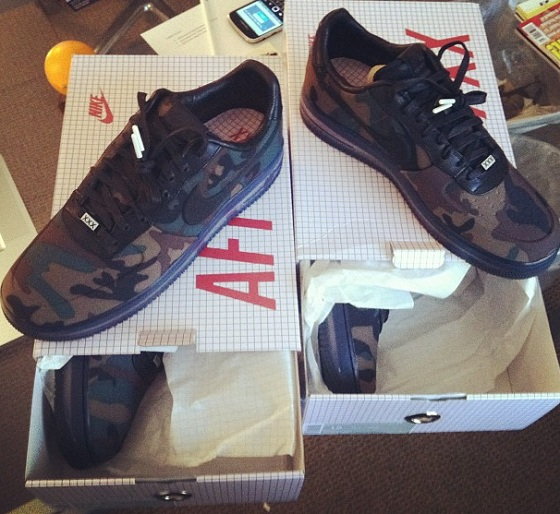 best service 21b95 fc114 Nike Air Force 1 Camo XXX Edition