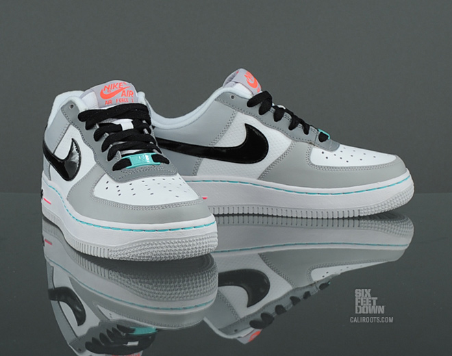 Nike Air Force 1 GS WhiteBlack Wolf Grey Cool Grey