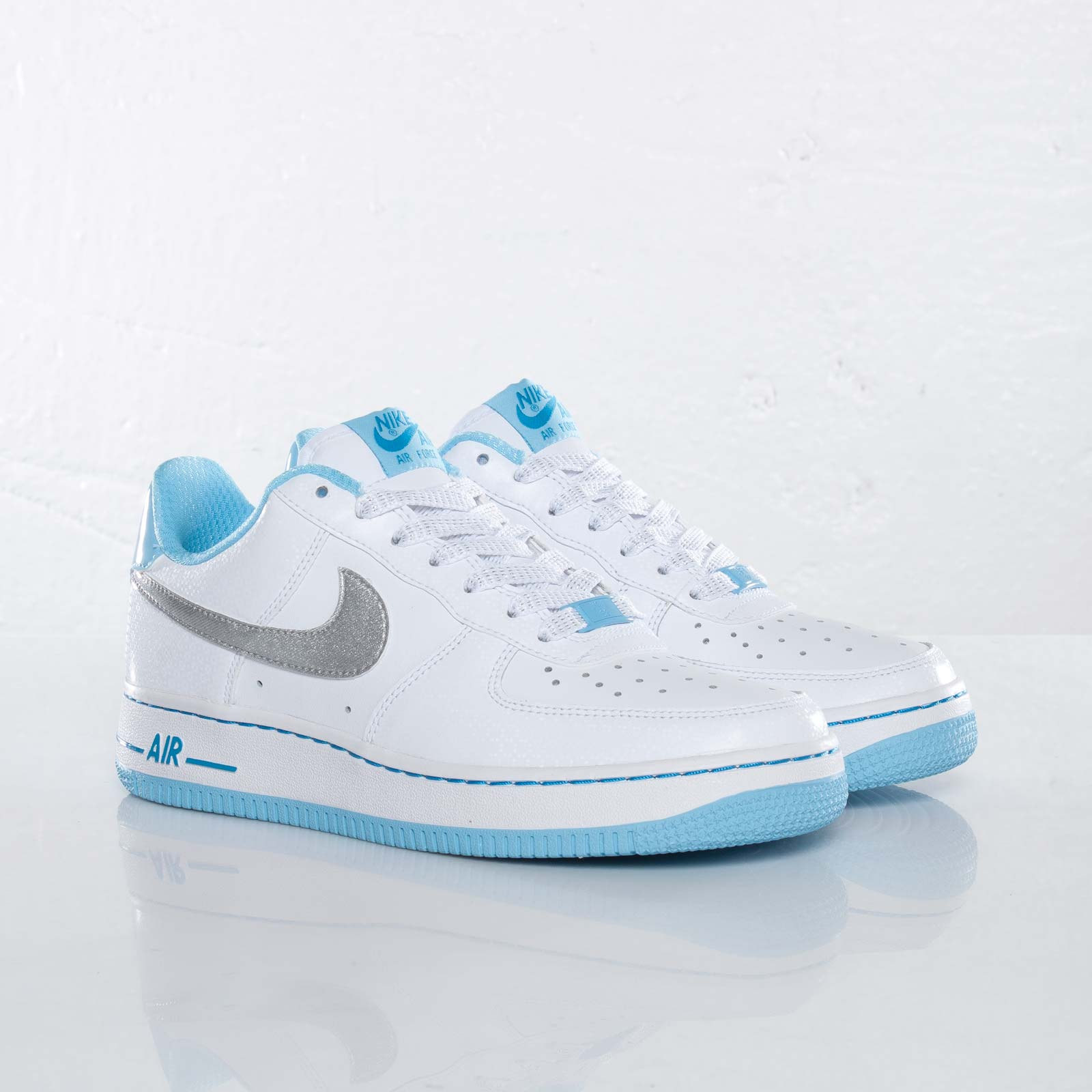 nike air force 1 low gs blue chill dynamic blue. Black Bedroom Furniture Sets. Home Design Ideas