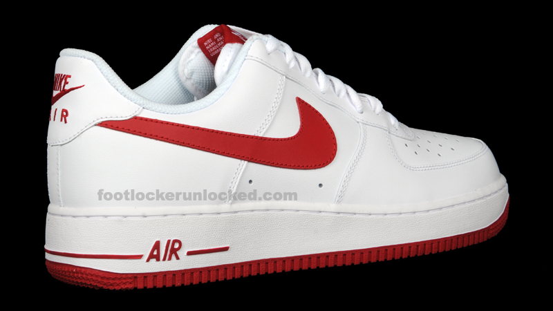 red and white air force 1