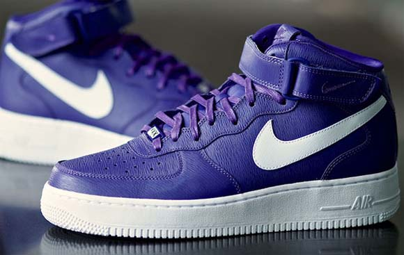 d4695c517fcad9 Nike Air Force 1 Mid QS Color  Court Purple White Style  573968-500.  Release  12 15 2012. Price   95.00
