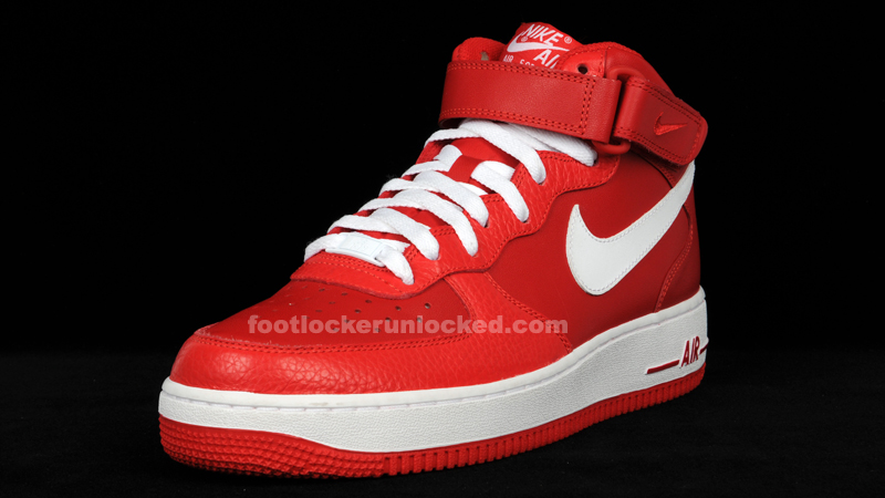 Nike Air Force 1 Mid Sport Red Valentine S Day