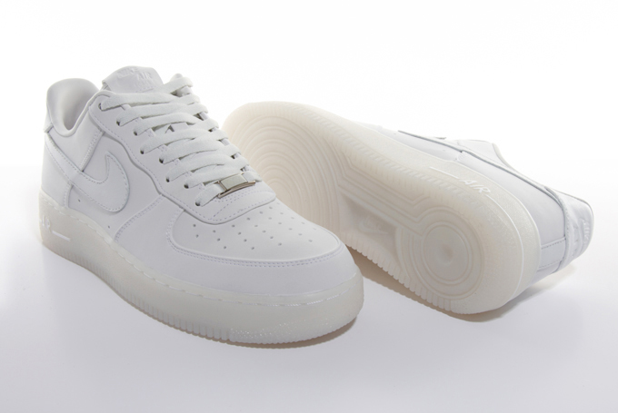 Authentic Nike Air Force 1 Premium Clear Boa Closure System