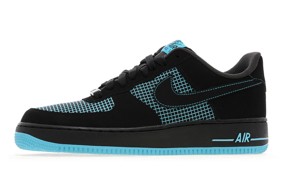 nike air force 1 low black gamma blue. Black Bedroom Furniture Sets. Home Design Ideas