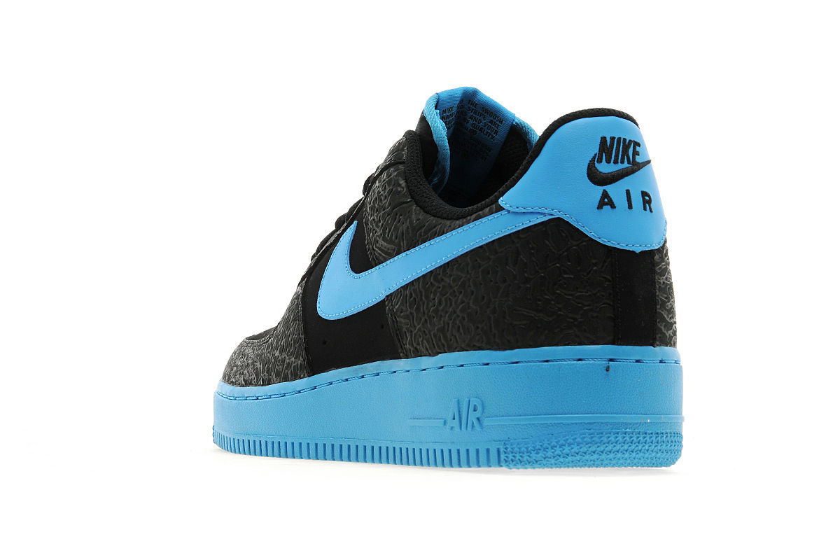 online store 0d7a6 37e80 Nike Air Force 1 One  07 LV8 Low Light Blue Black White 718152-407 Mens SZ  7-8.5
