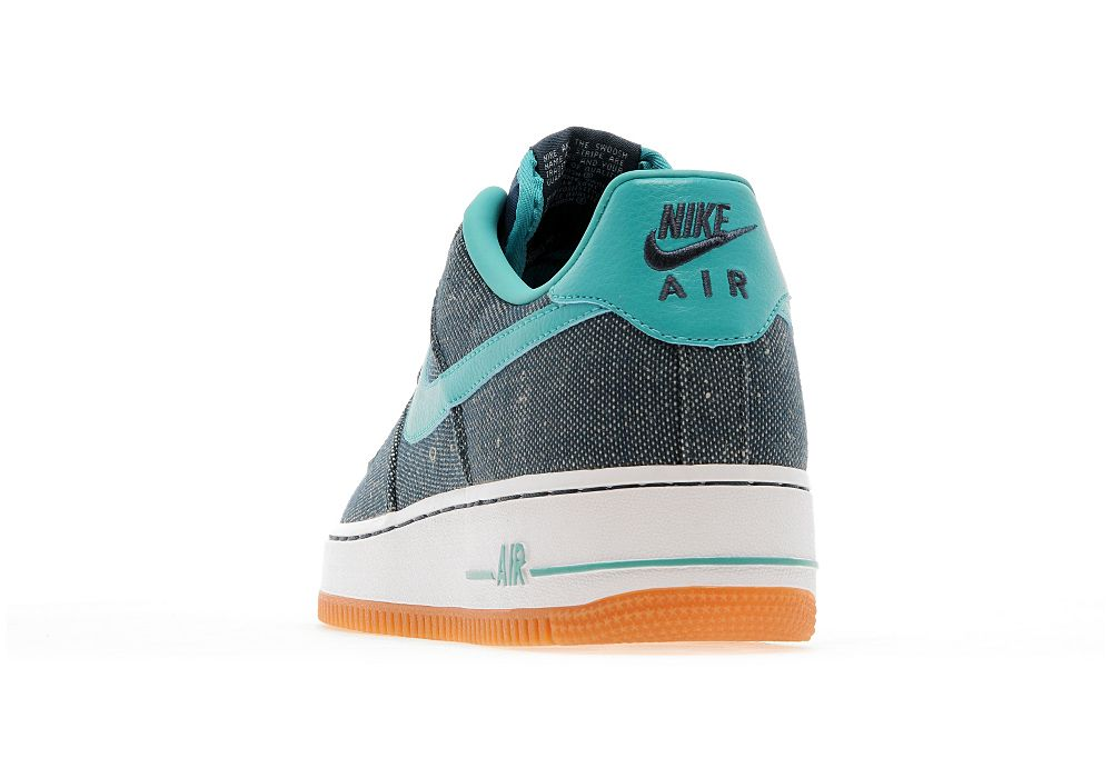 new product 61900 3ad0d Nike Air Force 1  09 LV8 QS Miami Vice Canvas 812297-100 sz9.5 Linen Kith