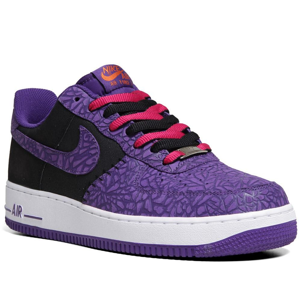 nike air force 1 low godzilla pack black court purple. Black Bedroom Furniture Sets. Home Design Ideas