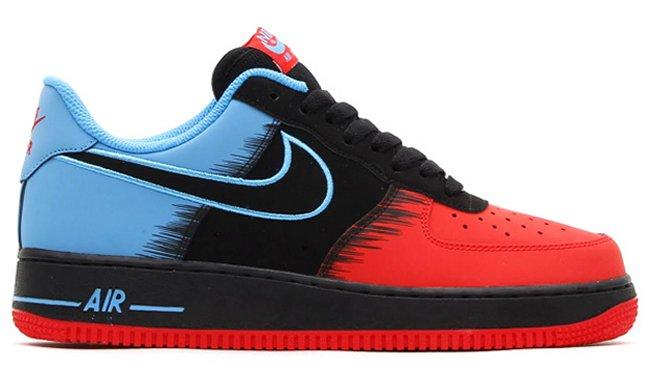 more photos 68254 1a122 Nike Air Force 1 Low Color: Light Crimson/Black-Vivid Blue Style: 488298-615