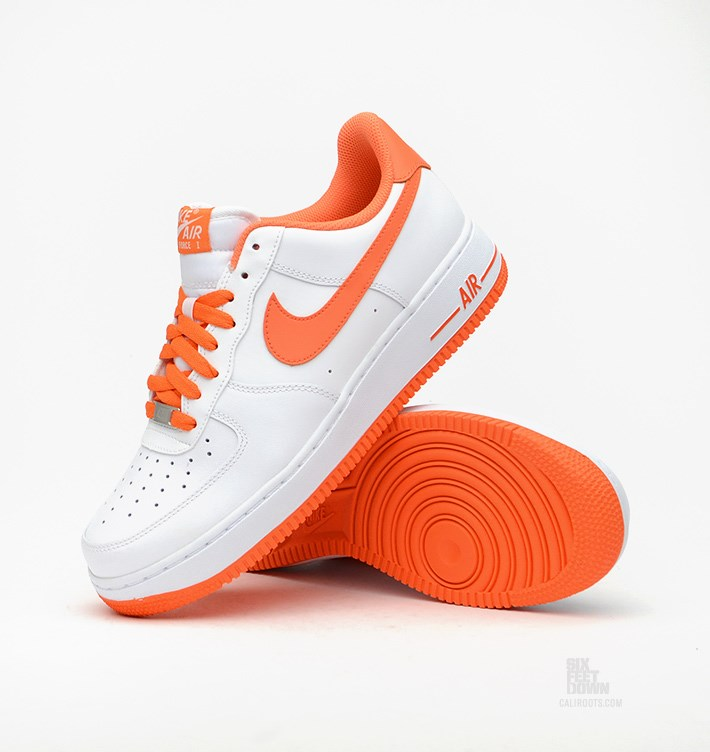 Black Nike Shoes With Orange Laces