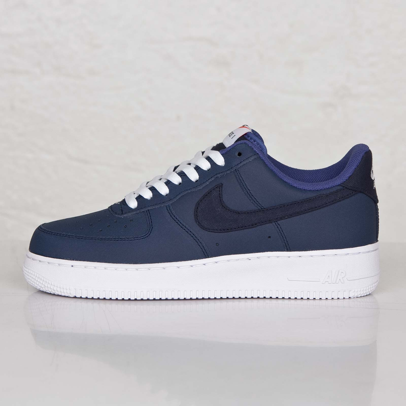 classic fit c5e47 99549 Nike Air Force 1 Low Color  Obsidian Obsidian-White-Blue Legend Style   488298-431. NIKE AIR FORCE 1 07 LV8 DARK OBSIDIAN BLUE DENIM AFRO PUNK 823511  402 ...