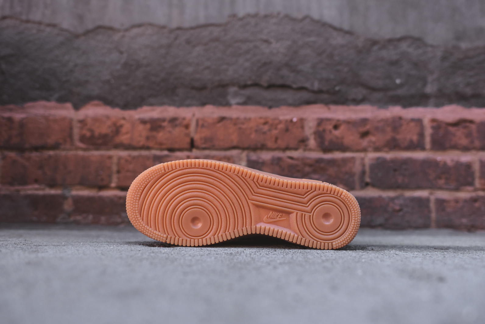 Nike Air Force 1 '07 Zapatos De Mujer De Gamuza Granate Profundo / Granate Profundo 5SNN4h