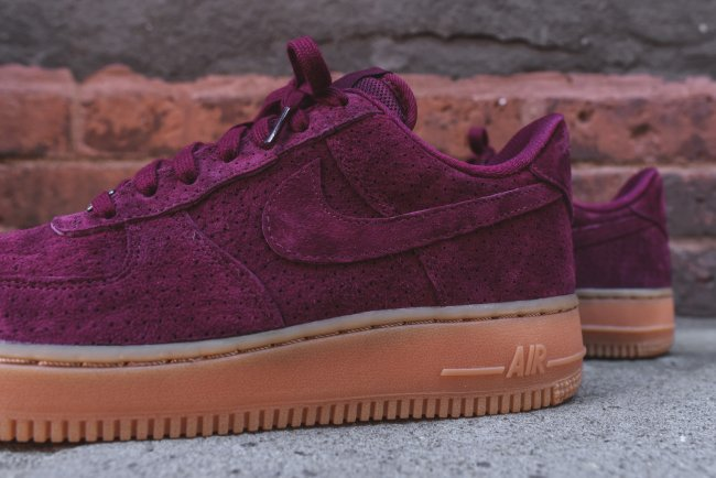 Nike Womens Air Force 1 Low 07 Deep Burgundy