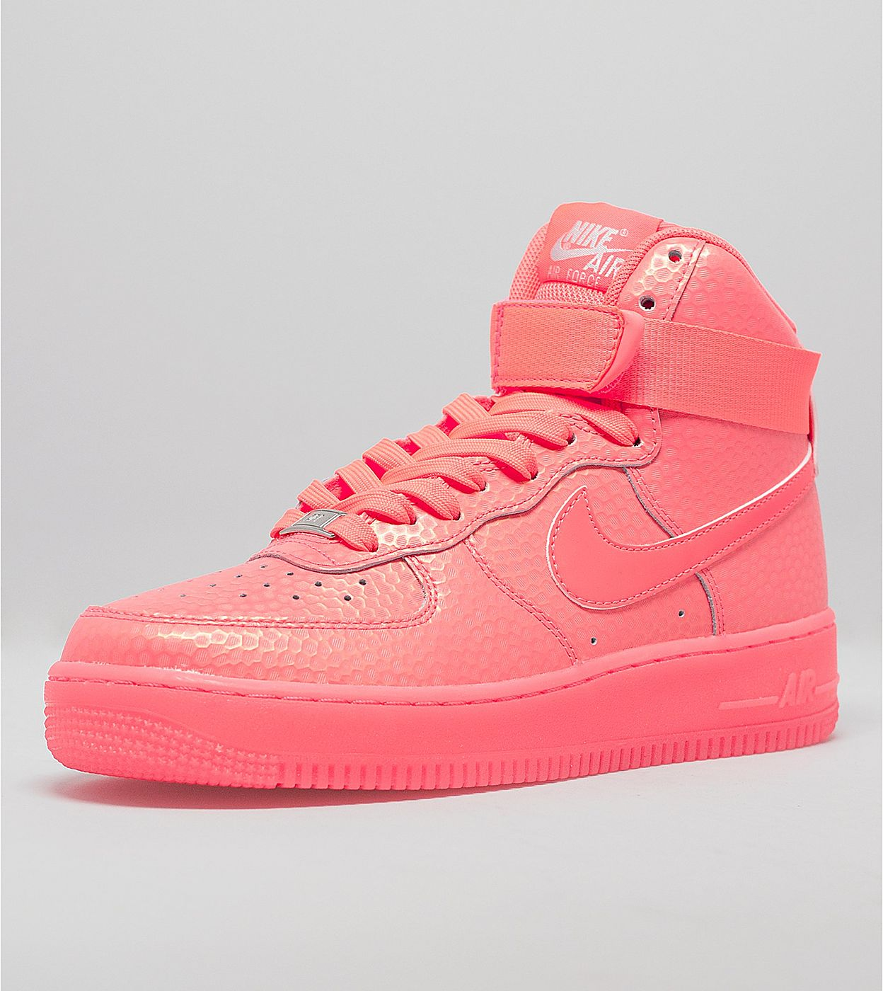 new arrival 791b9 ce277 Nike Women s Air Force 1 High Premium Color  Hot Lava Hot Lava Style   654440-800. Price   110.00
