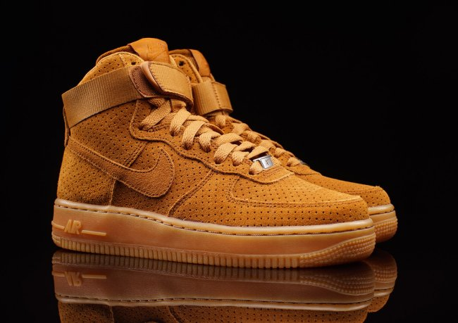 all brown nike air force 1