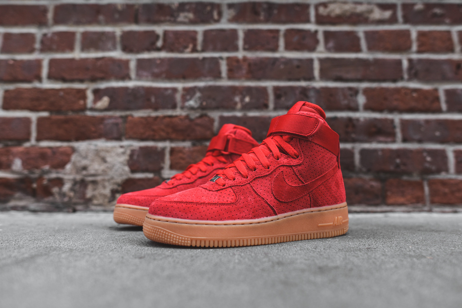 air force 1 with red bottom