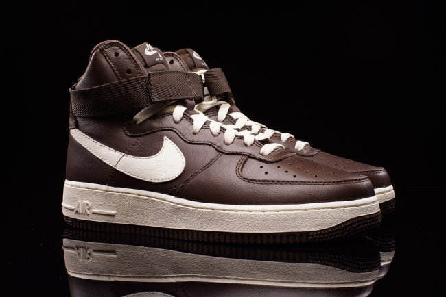 nike air force 1 hi chocolate