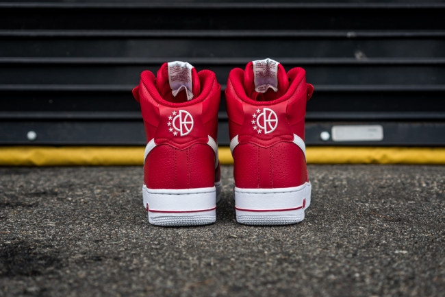 nike air force 1 high gym red