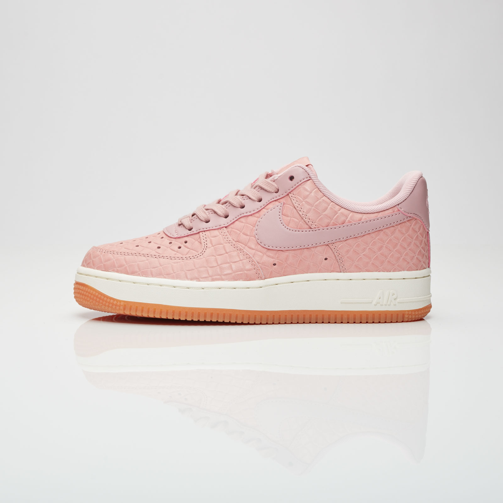 separation shoes 060dd 1f61e Nike Womens Air Force 1 Pink Glaze - Air 23 - Air Jordan Release Dates,  Foamposite, Air Max, and More
