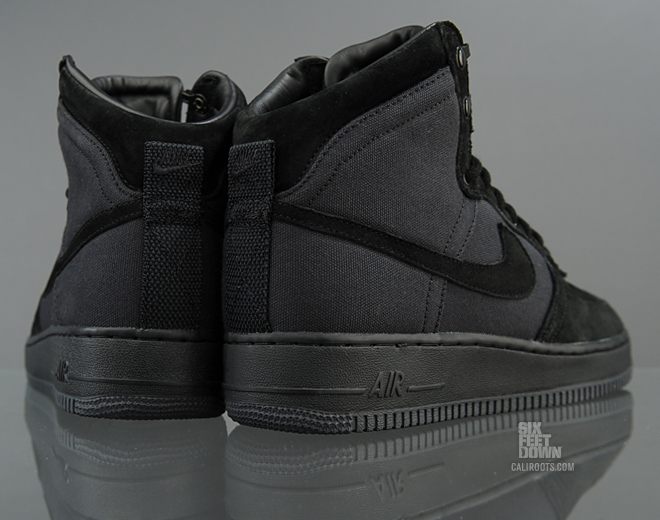 """the latest 70c61 6e7a7 ... Nike Air Force 1 High DCN """"Military Boot"""" Black . ..."""